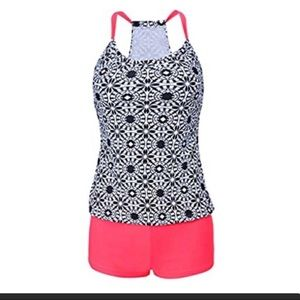 🔥🔥SWIMSUIT SALE TANKINI NEW WITH BOY SHORTS 🔥🔥